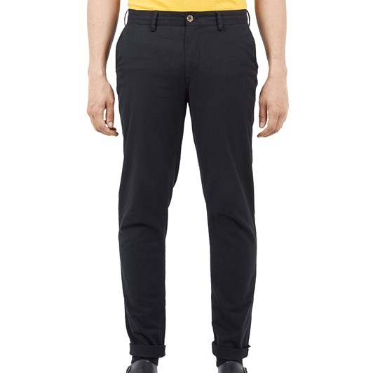 Ben Sherman Slim Stretch Chino Black