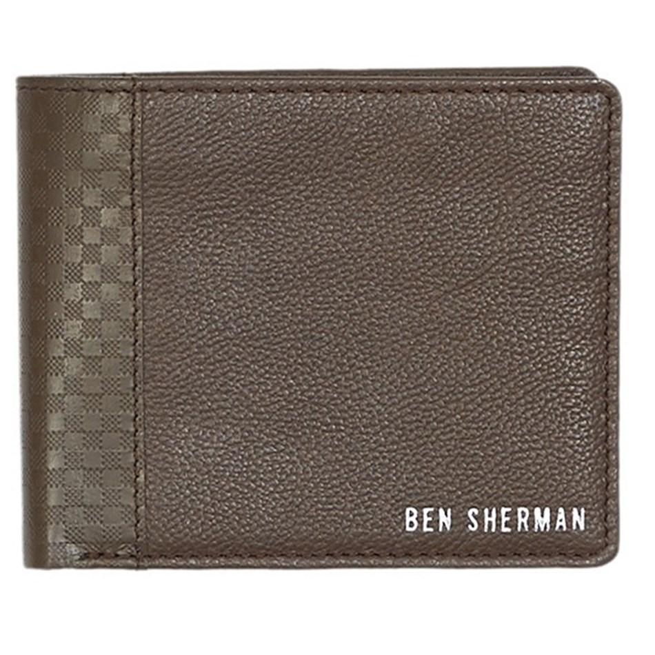 Ben Sherman Gingham Emboss Billfold -