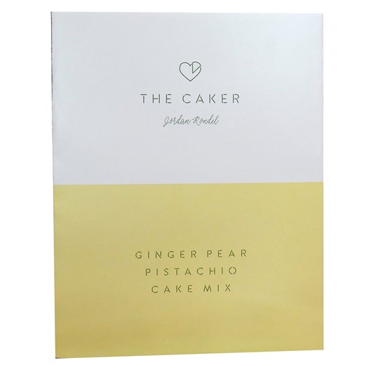 The Caker Ginger Pear Cake Mix