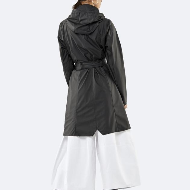 Rains Curve Jacket - black