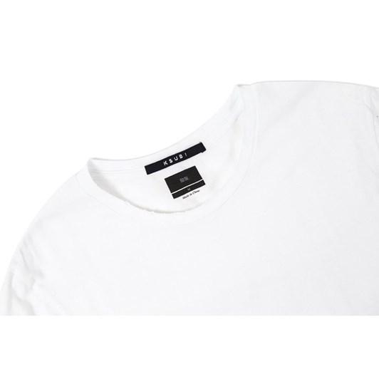 Ksubi Sioux Pocket S/S - Aged White