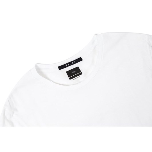Ksubi Sioux Pocket S/S - Aged White