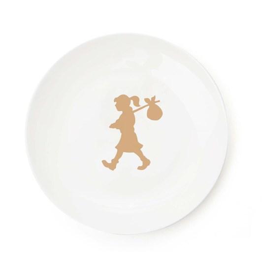 Karen Walker Home Runaway Girl Mixed Plate Set Of 4