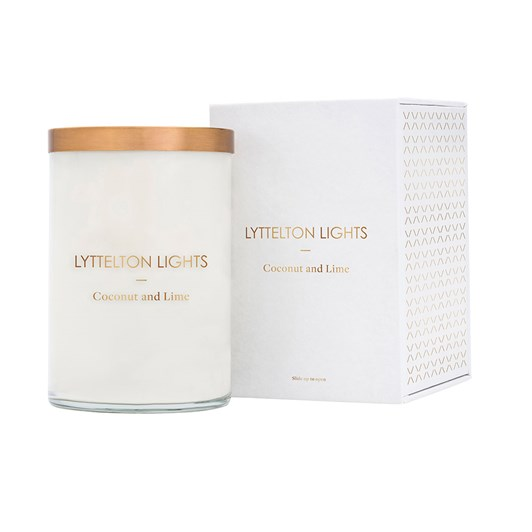 Lyttelton Lights Coconut And Lime Candle