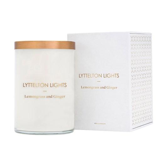 Lyttelton Lights Lemongrass And Ginger Candle