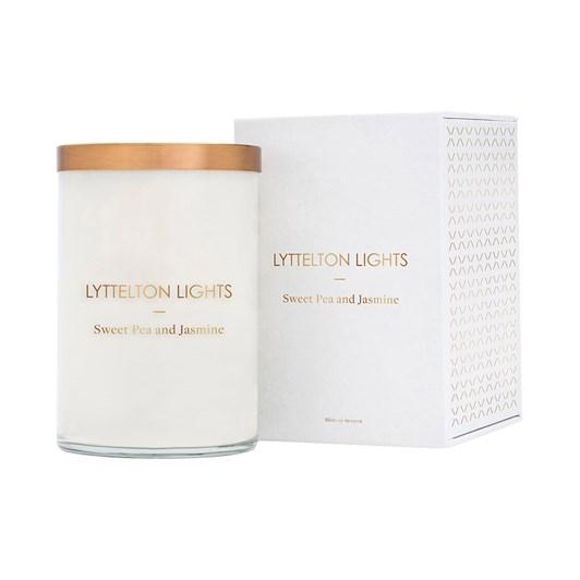 Lyttelton Lights Sweet Pea And Jasmine Candle