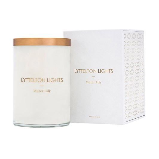 Lyttelton Lights Water Lily Candle