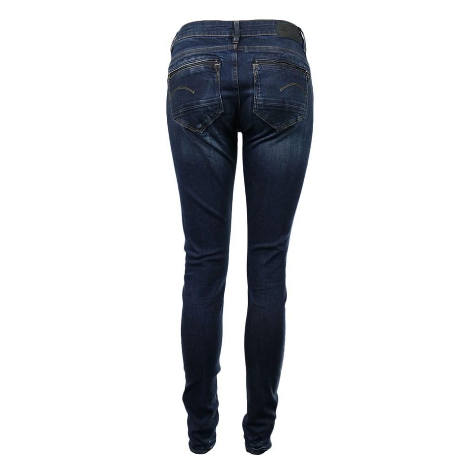 G-Star Midge Zip Mid Skinny Wmn -