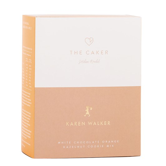 The Caker X Karen Walker White Chocolate Orange Hazelnut Mix