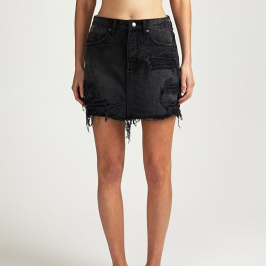 Ksubi Mini Moss Recall Skirt