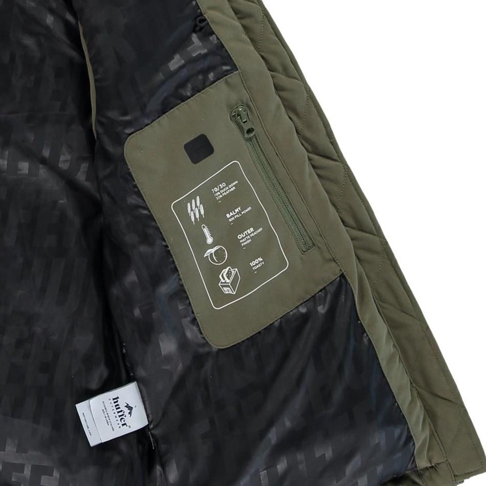 Huffer Wmns Classic Down Jacket - khaki