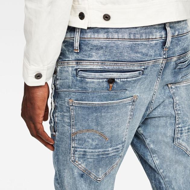 Gstar D-Staq 3D Skinny Jean - lt vntg agd dest