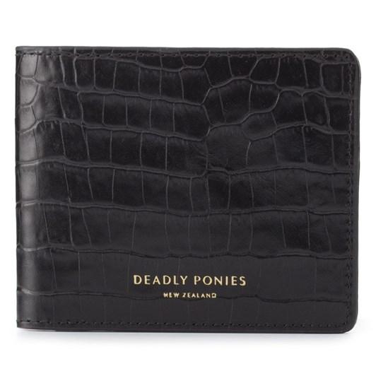 Deadly Ponies Flip Wallet Croc