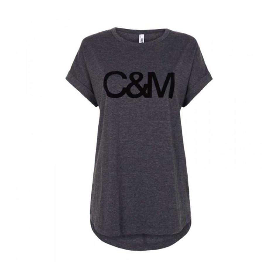 C&M Logo Roll Sleeve - char marle black