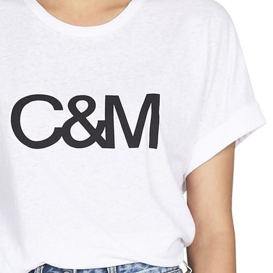 C&M Huntington Logo Slub Tee