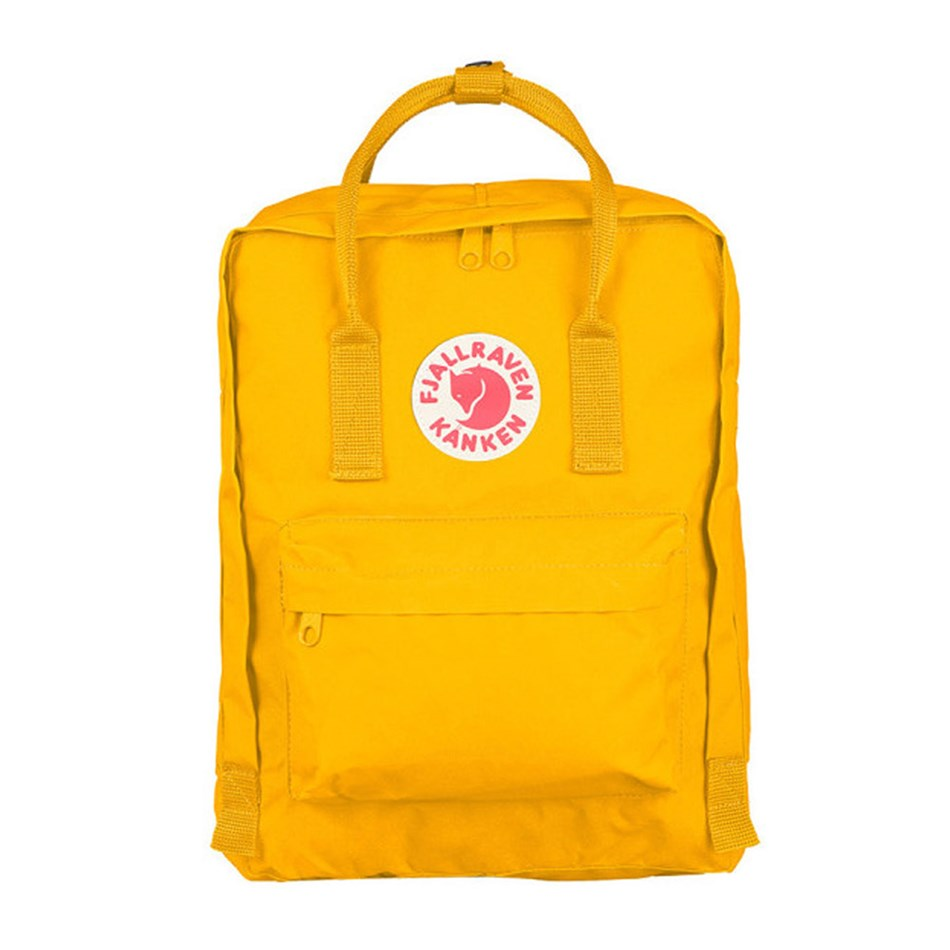Fjallraven Kanken Warm Yellow Backpack -