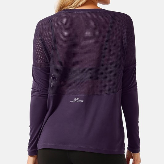 Lorna Jane Evolve L/Slv Excel Top