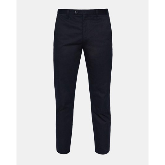 Ted Baker Cliftro Piece Dyed Cotton Trousers