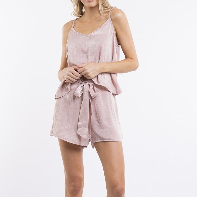 All About Eve Abby Cami - soft rose
