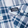 Superdry Washbasket S/S Shirt - 7mw solent blue oxford check