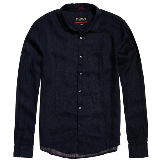Superdry Premium Wash Linen L/S Shirt