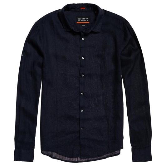 Superdry Premium Wash Linen L/S Shirt