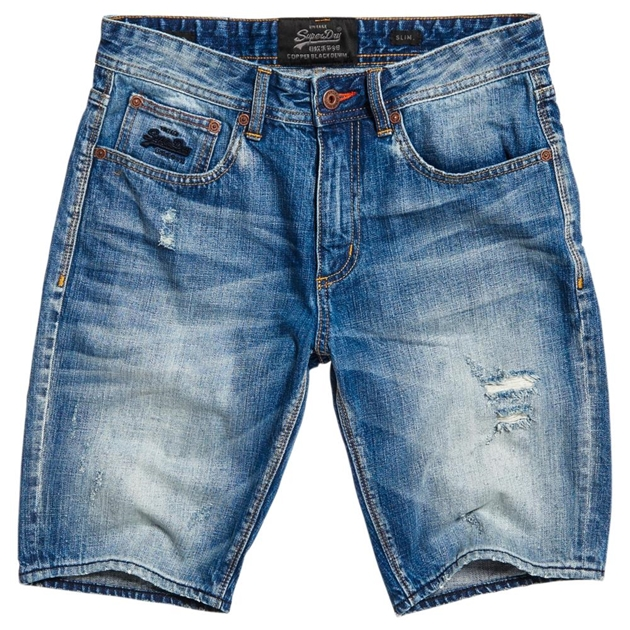 Superdry Officer Slim Short - 1gy quarry used