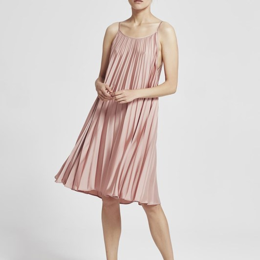 Juliette Hogan Cascade Pleat Dress