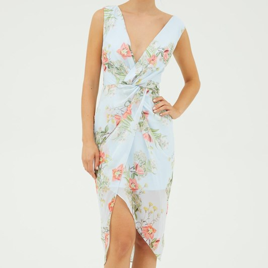 Cooper Street Blooming Drape Dress