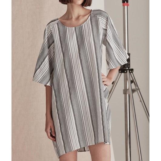 Commoners Womens Raglan Sleeve Dress
