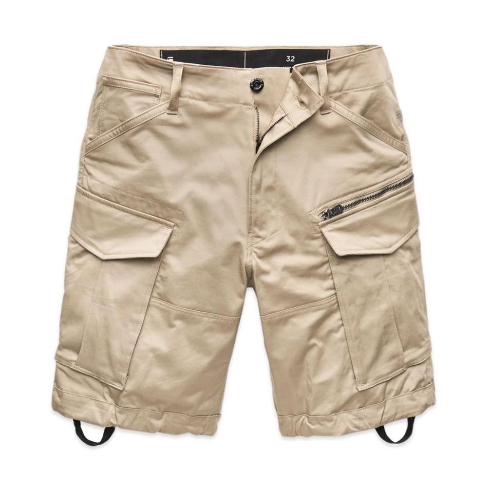 G-Star Rovic Zip Relaxed 1/2 Shorts - dk brick