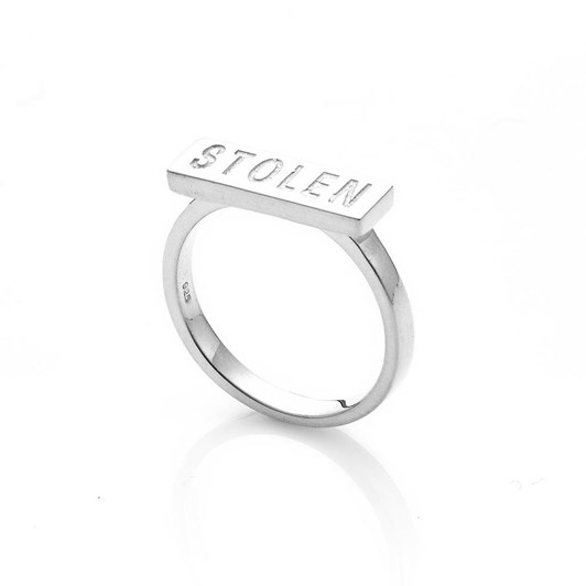 Stolen Girlfriends Club Stolen Bar Ring