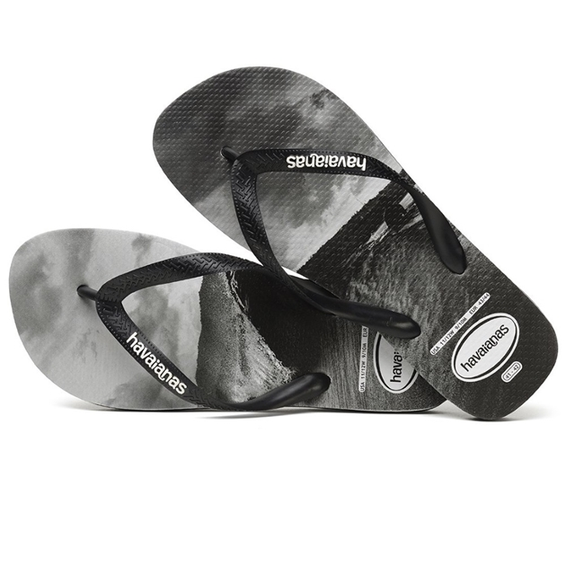 Havaianas Top Photoprint 0133 - black-white