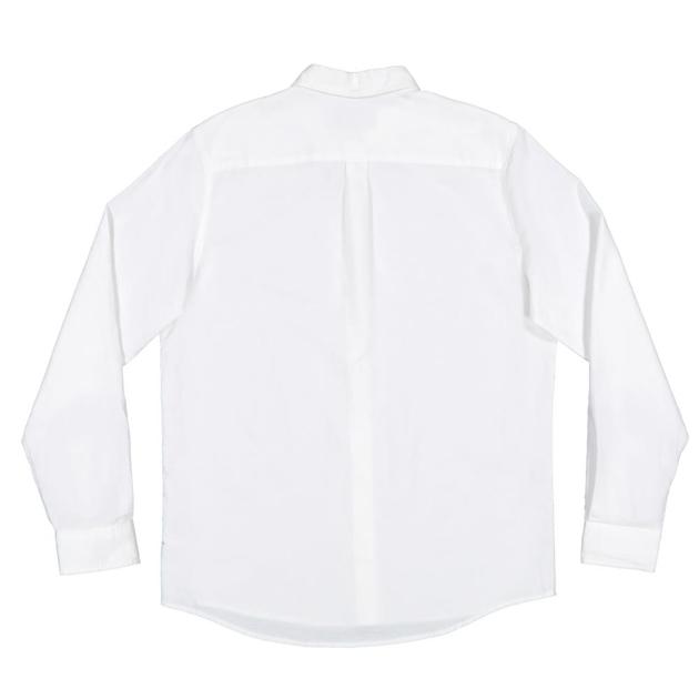 Huffer Ls Lin In Shirt - white