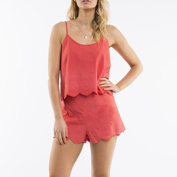 All About Eve Erin Cami - coral