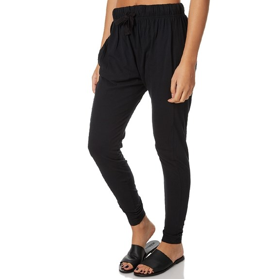 Silent Theory Pant Fluid - black