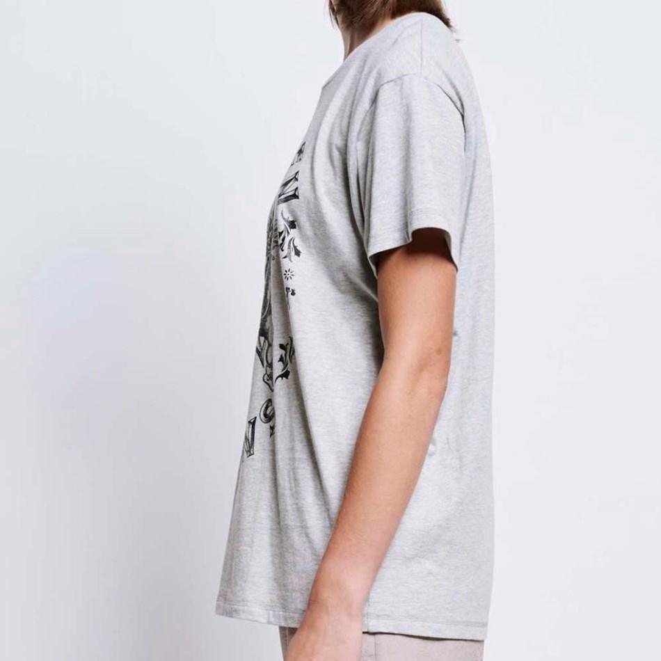 Karen Walker Celestial Cherub T-Shirt - grey marle
