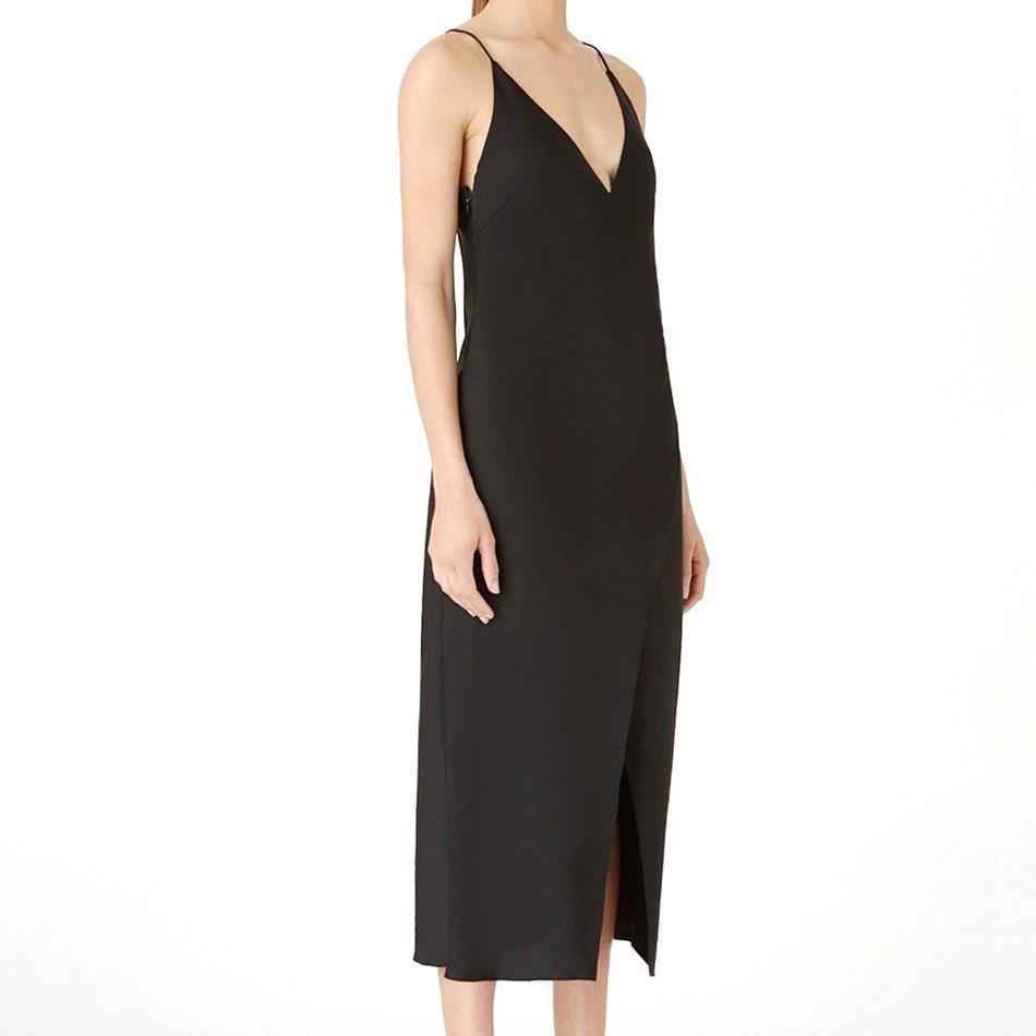 Camilla And Marc Amaral Slip Dress - black