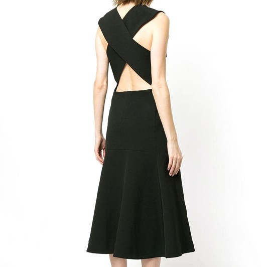 Camilla And Marc Ames V Neck Dress