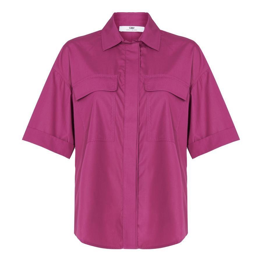 C & M Lenna Shirt - berry