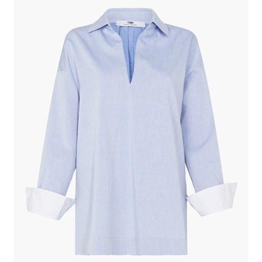 C & M Lisette V Neck Shirt