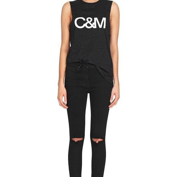 C & M Classic Logo Tank -