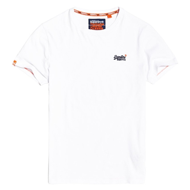 Superdry Orange Label Vintage Embroidery T-Shirt - 4xi new optic