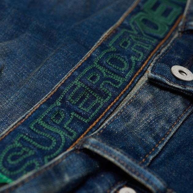 Superdry Slim Tyler Jeans - 78w antique vint