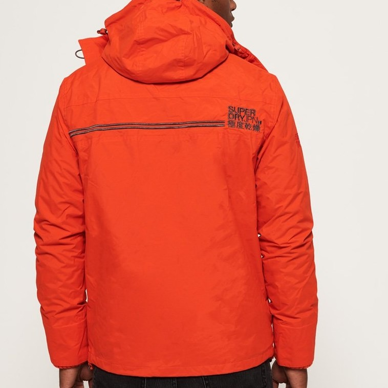 Superdry Technical Hooded Pop Zip SD-Windcheater Jacket -