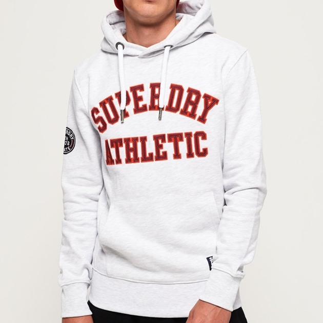 Superdry Academy Sport Applique Hood - 4t1 academy pale
