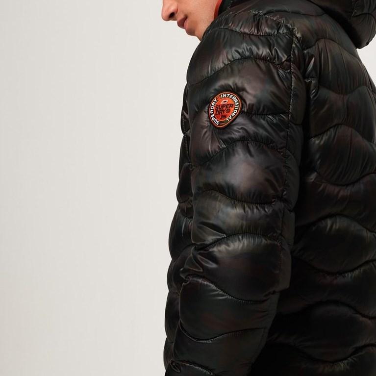 Superdry Wave Quilt Jacket - 4nq camo aop