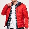 Superdry Wave Quilt Jacket - d1u bright red