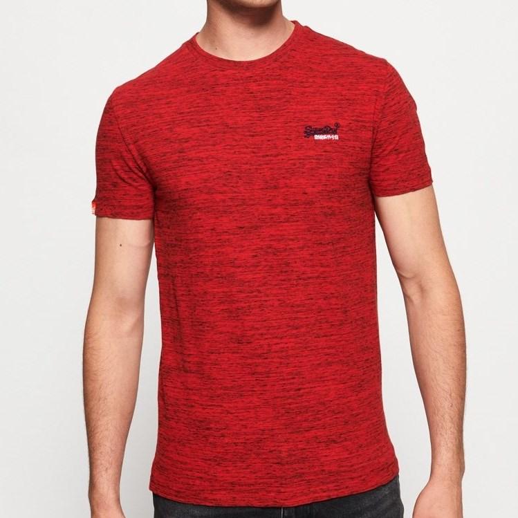 Superdry Orange Label Vintage Embroidery T-Shirt - 4ny alabama red
