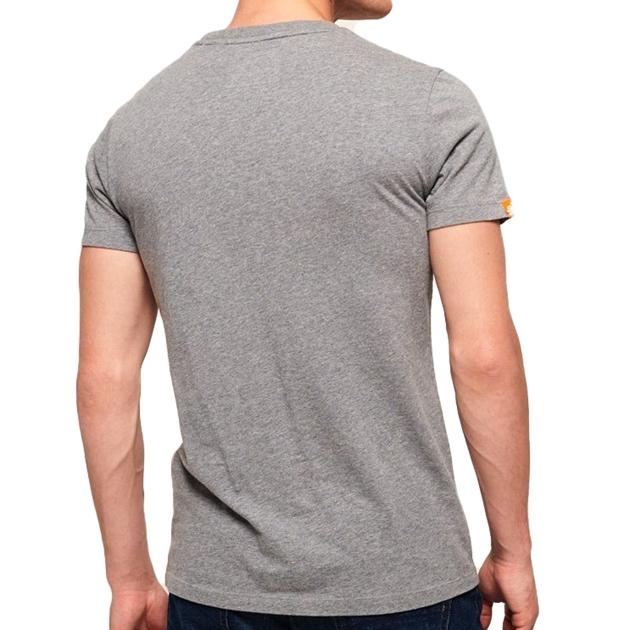 Superdry Orange Label Vintage Embroidery T-Shirt - 4o4 hyp nep grey